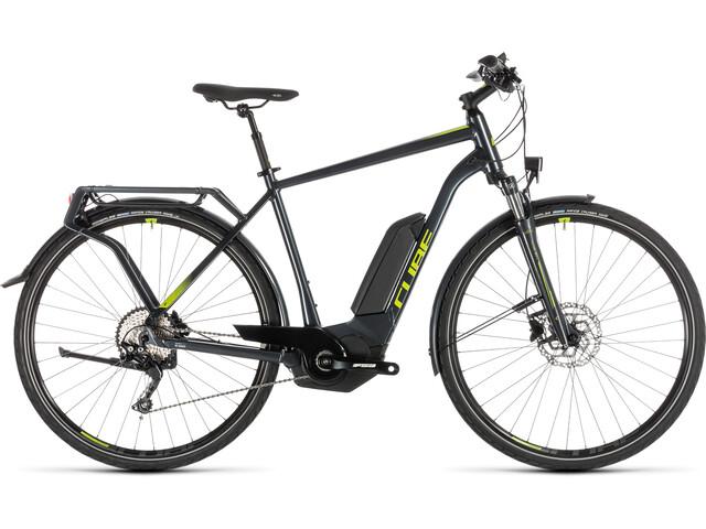 Cube Kathmandu Hybrid Pro 500 E-trekkingcykel grå (2019) | City-cykler